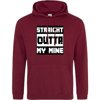 Straight Outta My Mine white