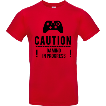Caution Gaming v2 B&C EXACT 190 - Rot