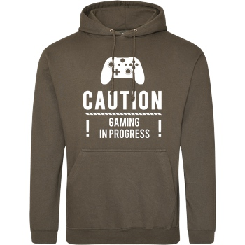 Caution Gaming v2 white