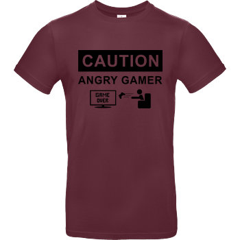 Caution! Angry Gamer B&C EXACT 190 - Bordeaux
