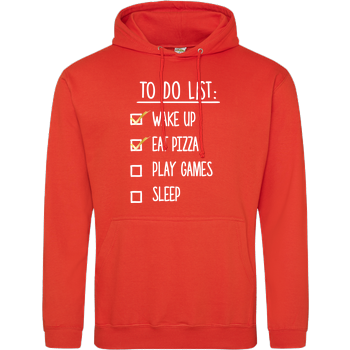 To Do List JH Hoodie - Orange