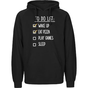 To Do List Fairtrade Hoodie