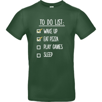 bjin94 To Do List T-Shirt B&C EXACT 190 -  Bottle Green