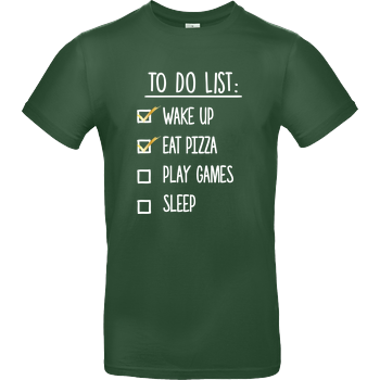 To Do List B&C EXACT 190 -  Bottle Green