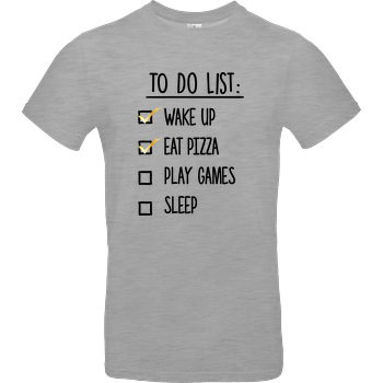 To Do List B&C EXACT 190 - heather grey