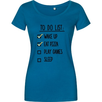 bjin94 To Do List T-Shirt Girlshirt petrol