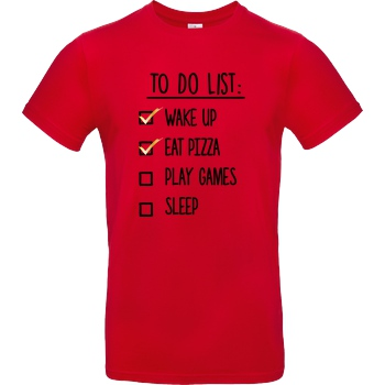 To Do List black