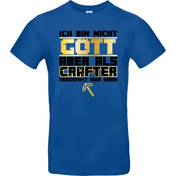 bjin94 Gamer Gott - MC Edition T-Shirt B&C EXACT 190 - Royal Blue