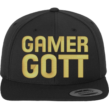 Gamer Gott Cap golden