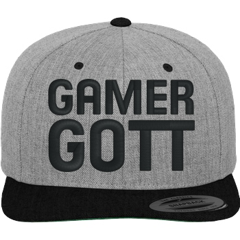 Gamer Gott Cap black