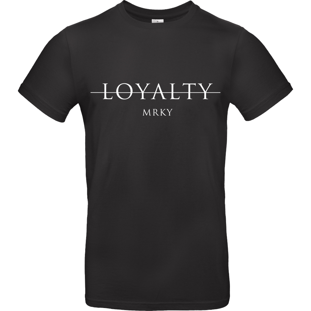 Markey Markey - Loyalty T-Shirt B&C EXACT 190 - Black