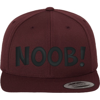 Noob! Cap black