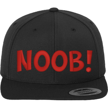 Noob! Cap red