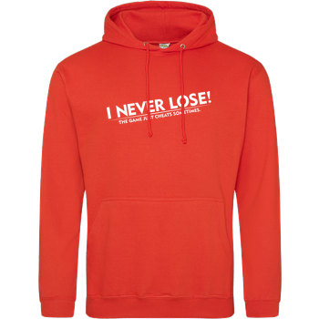I Never Lose JH Hoodie - Orange