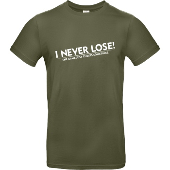 I Never Lose white