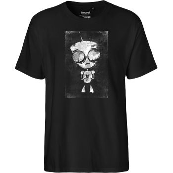 Mien Wayne Mien Wayne - Heartless GIR T-Shirt Fairtrade T-Shirt - black