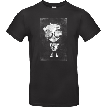 Mien Wayne Mien Wayne - Heartless GIR T-Shirt B&C EXACT 190 - Black
