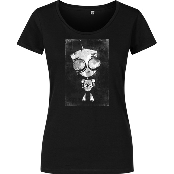 None Mien Wayne - Heartless GIR T-Shirt Damenshirt schwarz