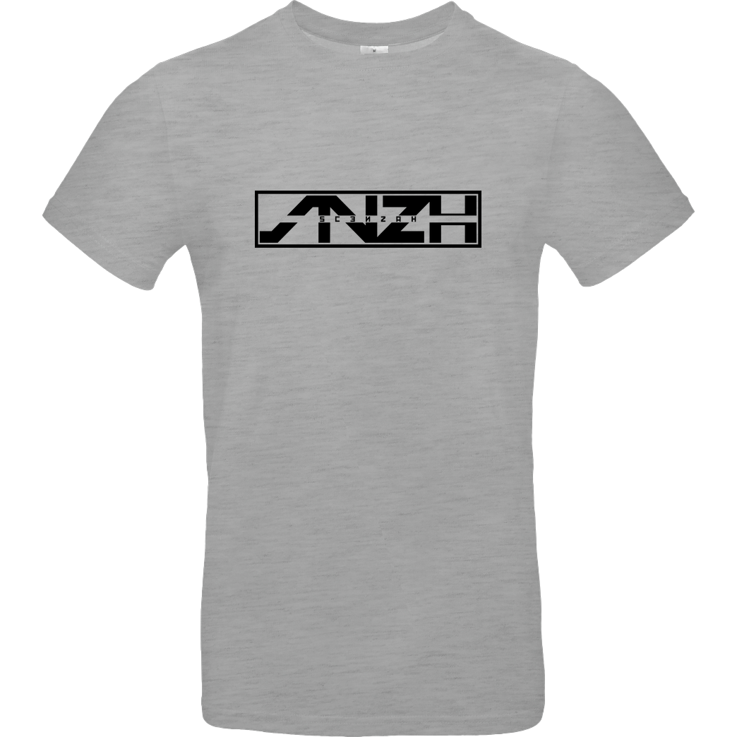 Scenzah Scenzah - Logo T-Shirt B&C EXACT 190 - heather grey