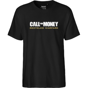 IamHaRa Call for Money T-Shirt Fairtrade T-Shirt - schwarz