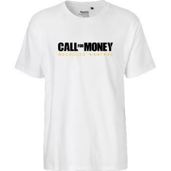 IamHaRa Call for Money T-Shirt Fairtrade T-Shirt - white