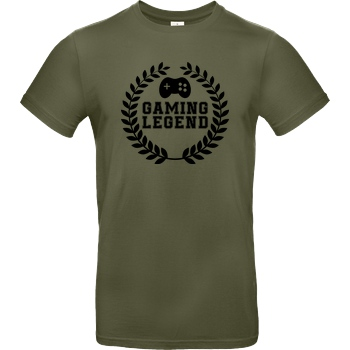 bjin94 Gaming Legend T-Shirt B&C EXACT 190 - Khaki