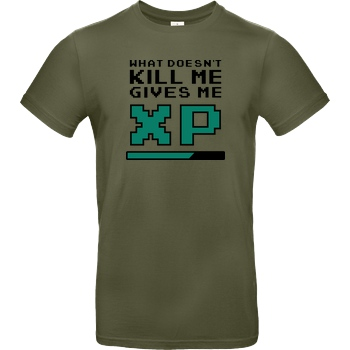 bjin94 What doesn't Kill Me T-Shirt B&C EXACT 190 - Khaki