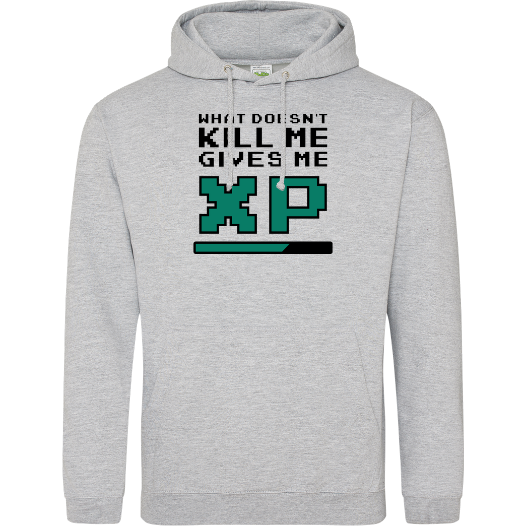 bjin94 What doesn't Kill Me Sweatshirt JH Hoodie - Heather Grey