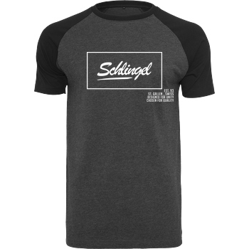 Sephiron Sephiron - Schlingel T-Shirt Raglan Tee dark heather grey