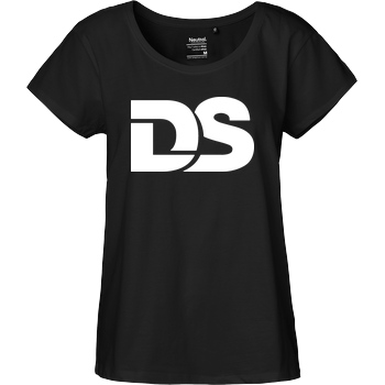 DerSorbus DerSorbus - Old school Logo T-Shirt Fairtrade Loose Fit Girlie