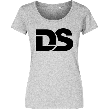 DerSorbus - Old school Logo Damenshirt heather grey