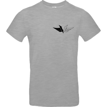 veKtik Vektik - Logo small T-Shirt B&C EXACT 190 - heather grey