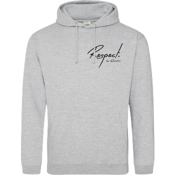 EZZKN - Respect JH Hoodie - Heather Grey