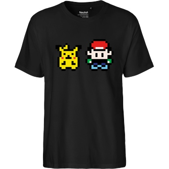 IamHaRa 8-Bit Poke T-Shirt Fairtrade T-Shirt