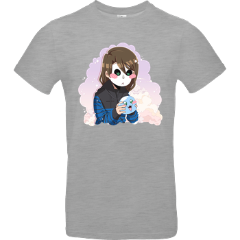 GermanLetsPlay - Manuel und Klumpi B&C EXACT 190 - heather grey