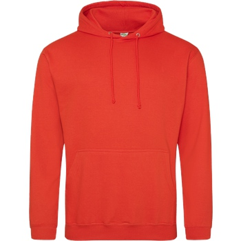 None Unbedruckte Textilien Sweatshirt JH Hoodie - Orange