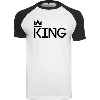MarcelScorpion MarcelScorpion - King T-Shirt Raglan Tee white