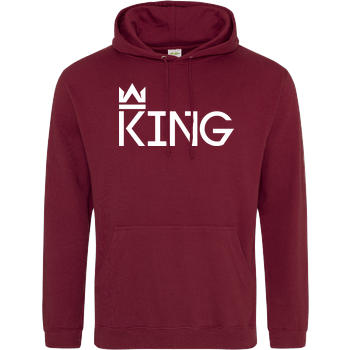 MarcelScorpion - King JH Hoodie - Bordeaux