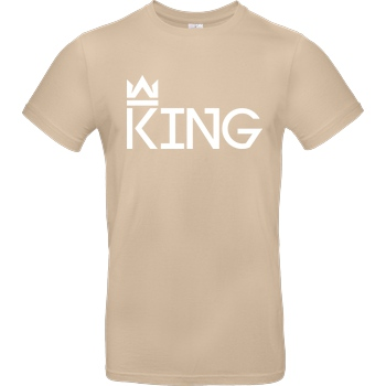 MarcelScorpion MarcelScorpion - King T-Shirt B&C EXACT 190 - Sand