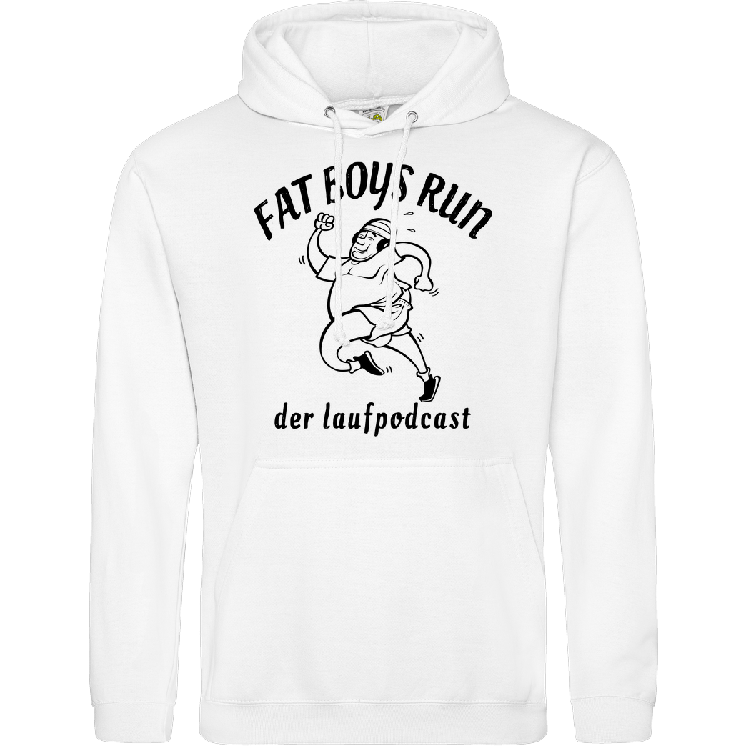 Fat Boys Run Fat Boys Run - Logo Sweatshirt JH Hoodie - Weiß