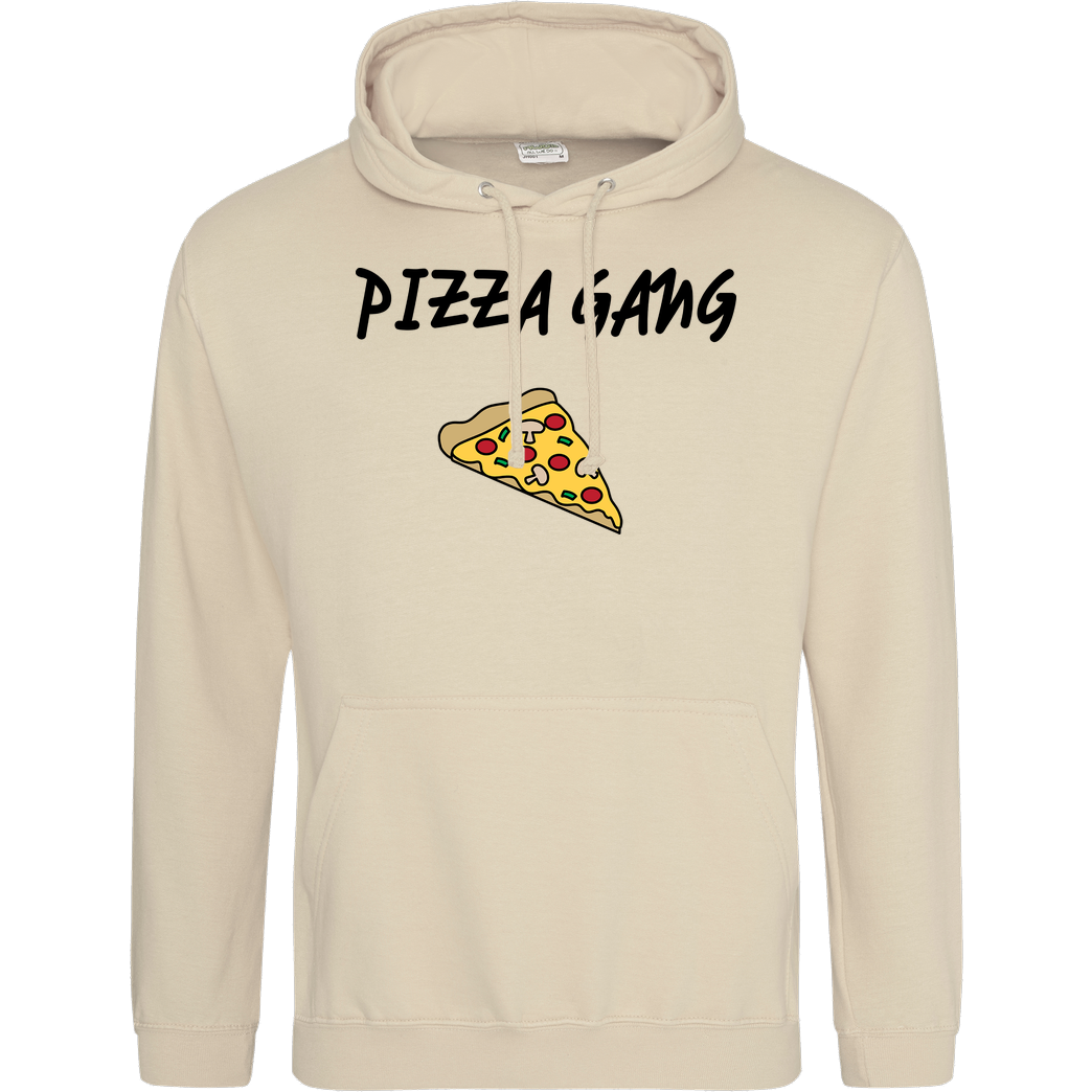 Fittihollywood FittiHollywood- Pizza Gang Sweatshirt JH Hoodie - Sand