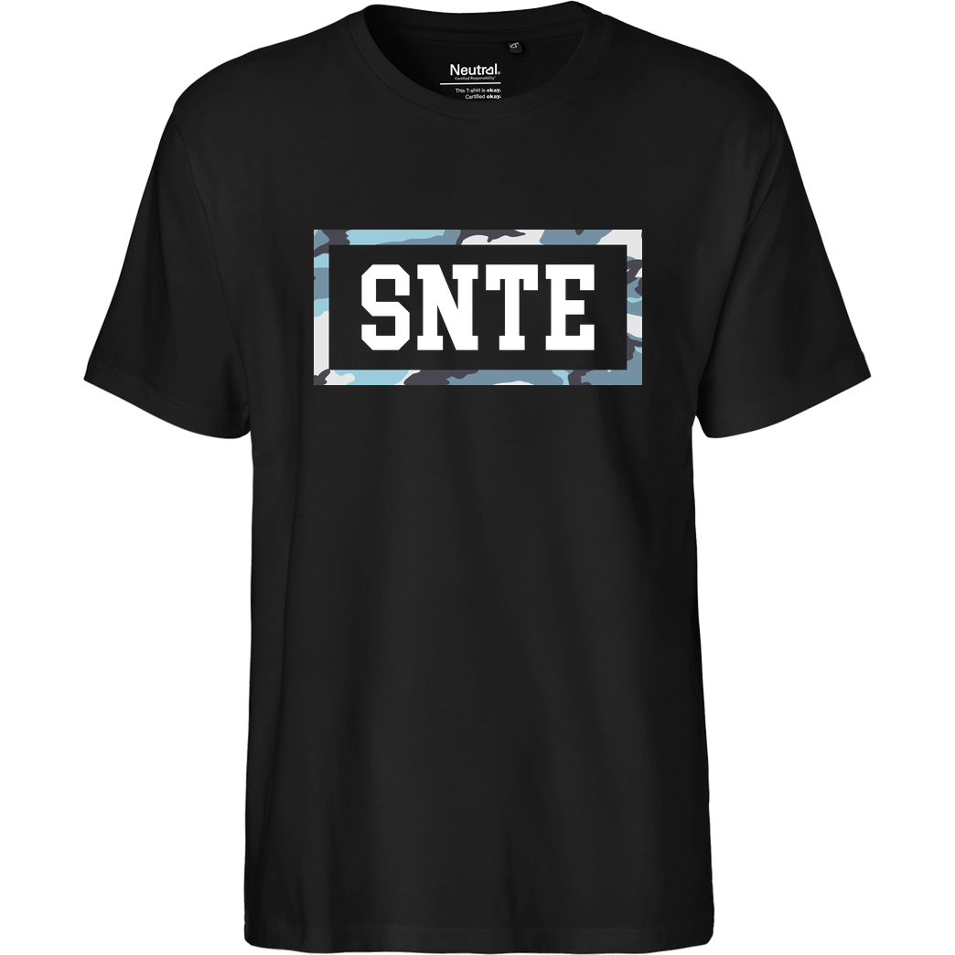 SYNTE Synte - Camo Logo T-Shirt Fairtrade T-Shirt
