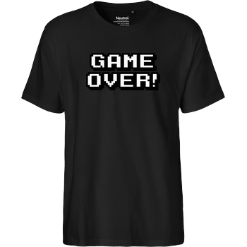 bjin94 Game Over T-Shirt Fairtrade T-Shirt