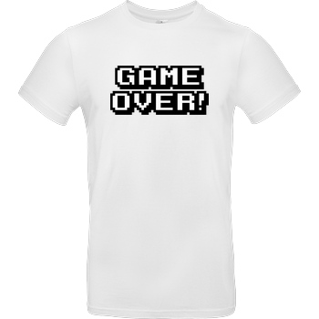 bjin94 Game Over T-Shirt B&C EXACT 190 -  White