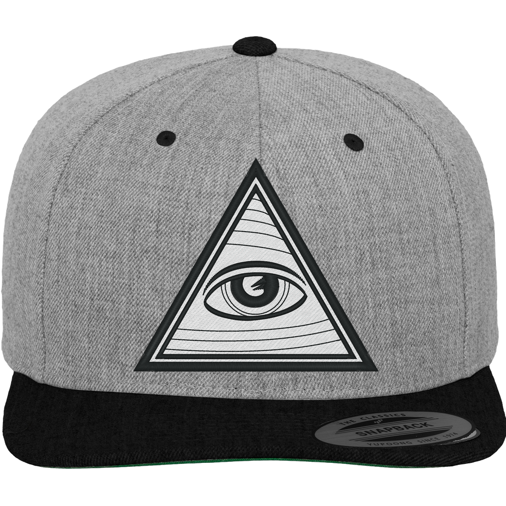 IamHaRa Illuminati Confirmed Cap Cap Cap heather grey/black
