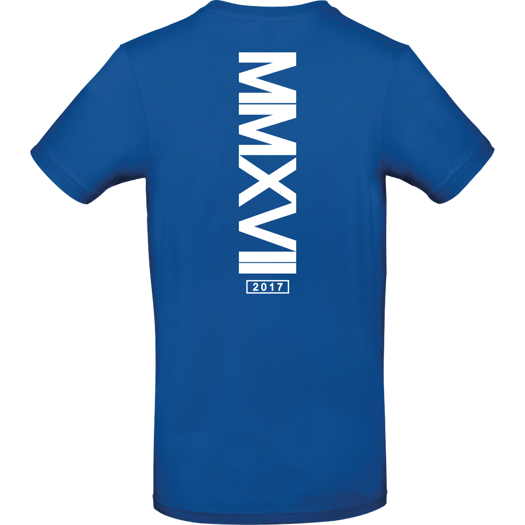 Markey Markey - MMXVI T-Shirt B&C EXACT 190 - Royal Blue