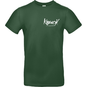Krench Royale Krencho - KrenchX T-Shirt B&C EXACT 190 -  Bottle Green