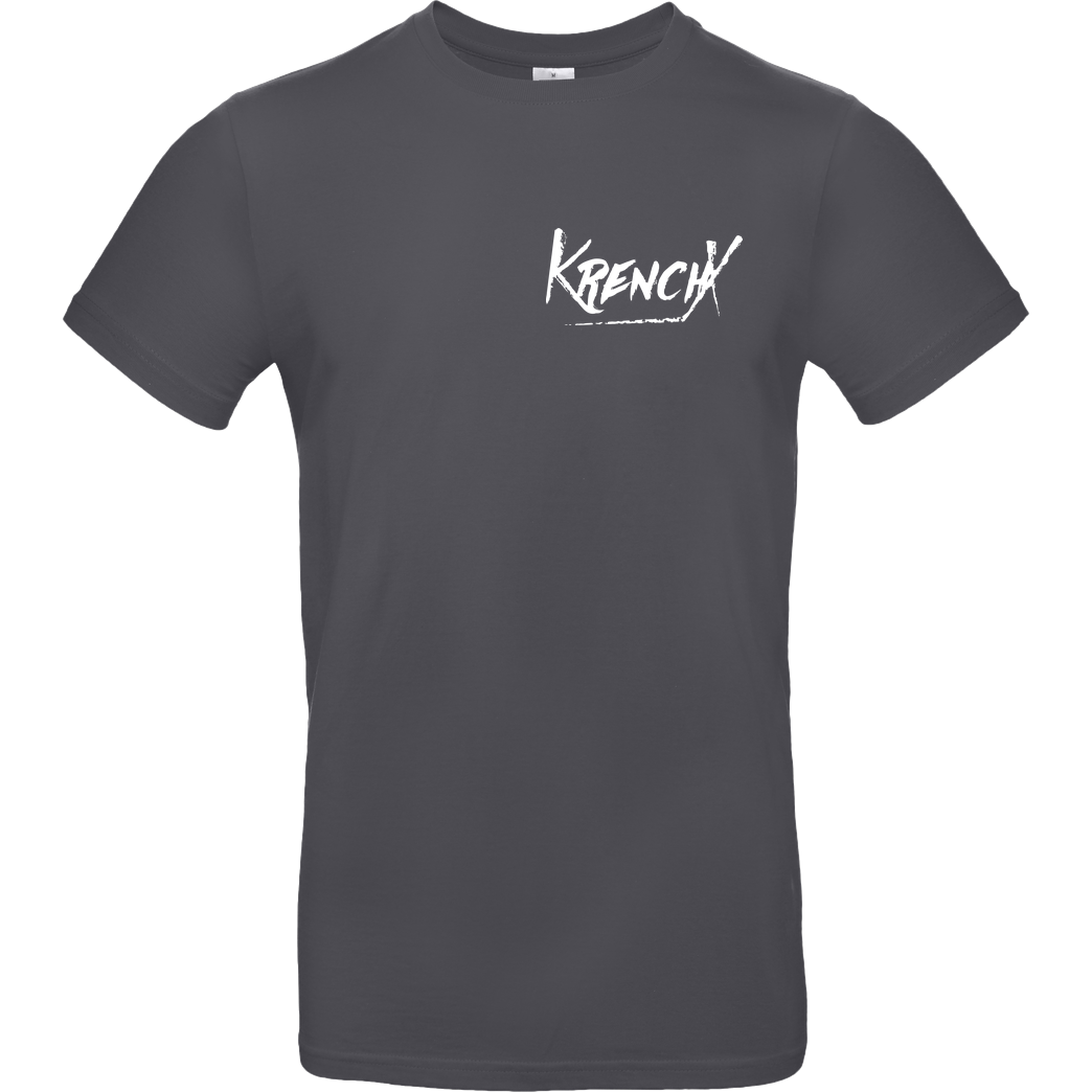 Krench Royale Krencho - KrenchX T-Shirt B&C EXACT 190 - Dark Grey