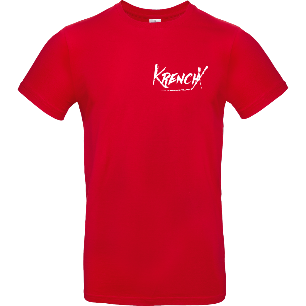 Krench Royale Krencho - KrenchX T-Shirt B&C EXACT 190 - Red