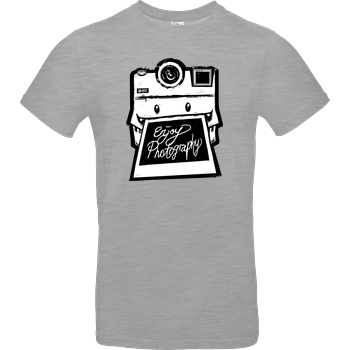 FilmenLernen.de Monstermatic T-Shirt B&C EXACT 190 - heather grey